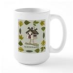birdhouse Large Mug
