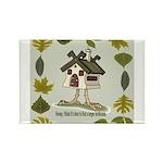birdhouse Rectangle Magnet (10 pack)
