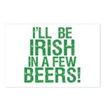 Irish In A Few Beers Postcards (Package of 8)