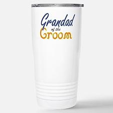 Grandad of the Groom Stainless Steel Travel Mug