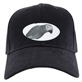 African grey parrot Black Hat