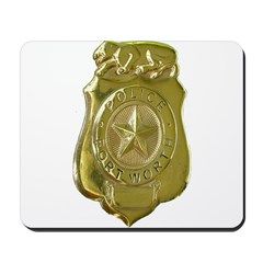 Fort Worth Police Mousepad
