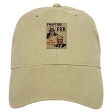I Want FDR Baseball Cap