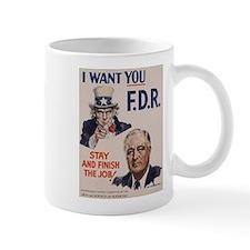 I Want FDR Mug