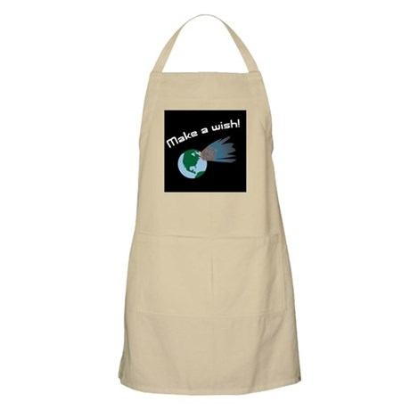 Make A Wish Asteroid BBQ Apron