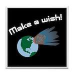 Make A Wish Asteroid Tile Coaster