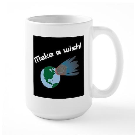 Make A Wish Asteroid Large Mug
