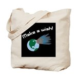Make A Wish Asteroid Tote Bag