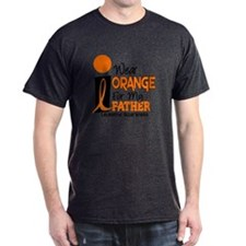 I Wear Orange For My Father 9 Leukemia T-Shirt