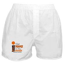 I Wear Orange For My Father 9 Leukemia Boxer Short