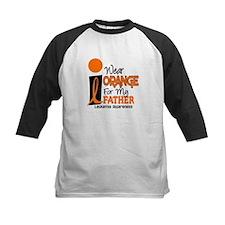 I Wear Orange For My Father 9 Leukemia Tee