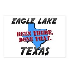 eagle lake texas - been there, done that Postcards