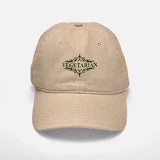 Vegetarian Baseball Baseball Cap