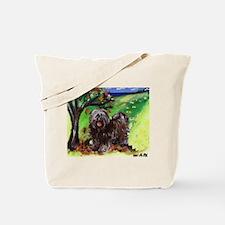 Tibetan Terrier Fall Autumn S Tote Bag