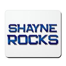 shayne rocks Mousepad