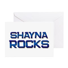 shayna rocks Greeting Cards (Pk of 10)