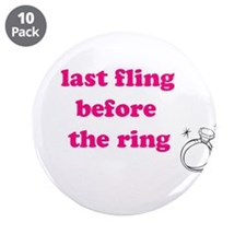 "Cute Last night out 3.5"" Button (10 pack)"
