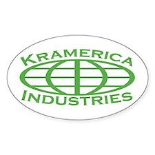 Kramerica Industries Oval Decal
