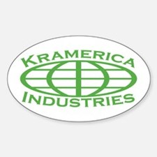 Kramerica Industries Oval Decal