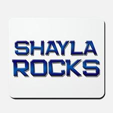 shayla rocks Mousepad
