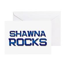 shawna rocks Greeting Card