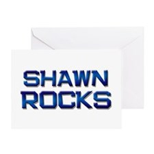 shawn rocks Greeting Card