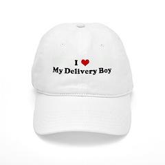 I Love My Delivery Boy Baseball Cap