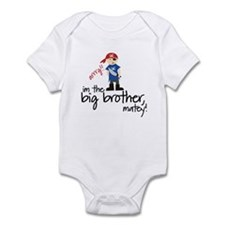 big brother shirt pirate Infant Bodysuit