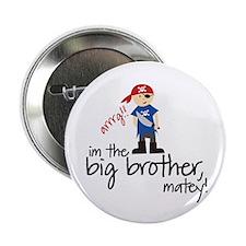 "big brother shirt pirate 2.25"" Button"