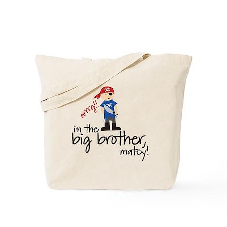 big brother shirt pirate Tote Bag