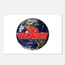 No Vacancy - Postcards (Package of 8)