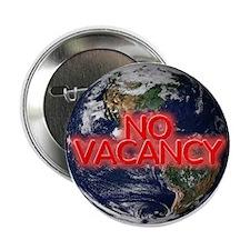 """No Vacancy - 2.25"""" Button"""