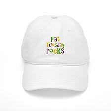 Fat Tuesday Rocks Baseball Cap