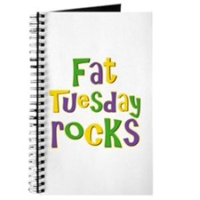 Fat Tuesday Rocks Journal