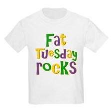 Fat Tuesday Rocks T-Shirt