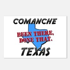 comanche texas - been there, done that Postcards (