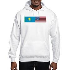Kazakh and American Hoodie