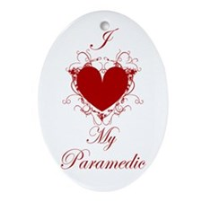 Paramedic Oval Ornament