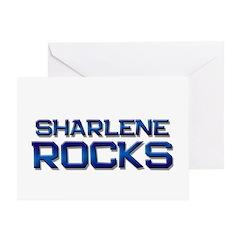 sharlene rocks Greeting Card