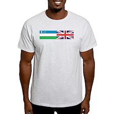 Uzbek and UK T-Shirt