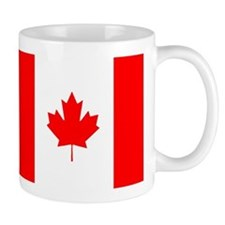 Uyghur and Canadian Flag Mug