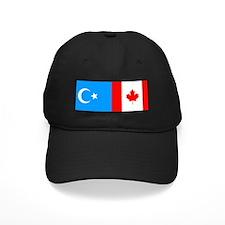 Uyghur and Canadian Flag Baseball Hat
