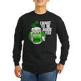 St patricks day Long Sleeve T-shirts (Dark)