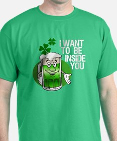 Green Beer Humor T-Shirt
