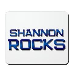 shannon rocks Mousepad