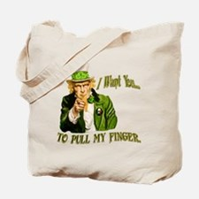 St Pats Pull my finger Tote Bag