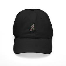 Flower Ribbon DIABETES Baseball Hat