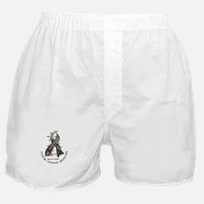 Flower Ribbon JUVENILE DIABETES Boxer Shorts