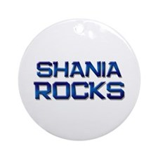 shania rocks Ornament (Round)