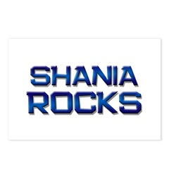 shania rocks Postcards (Package of 8)